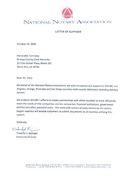 Endorsement - National Notary Association